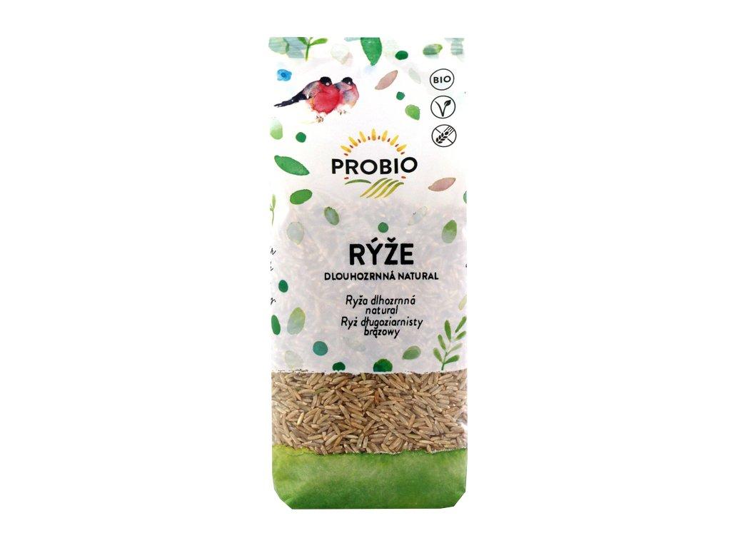 Rýže dlouhoznná natural PROBIO BIO 500 g