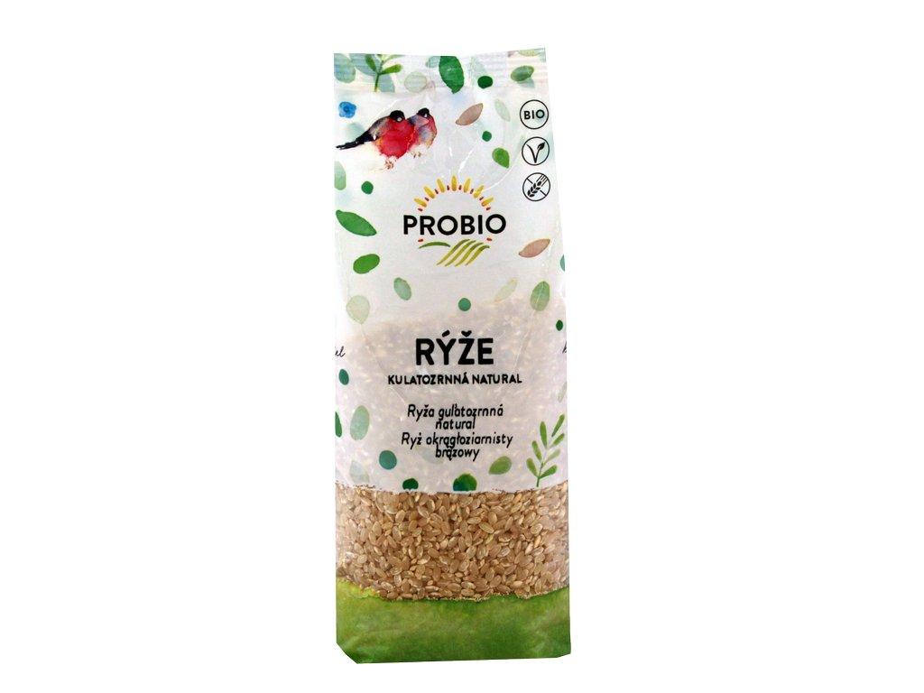 Rýže kulatozrnná natural PROBIO BIO 500 g
