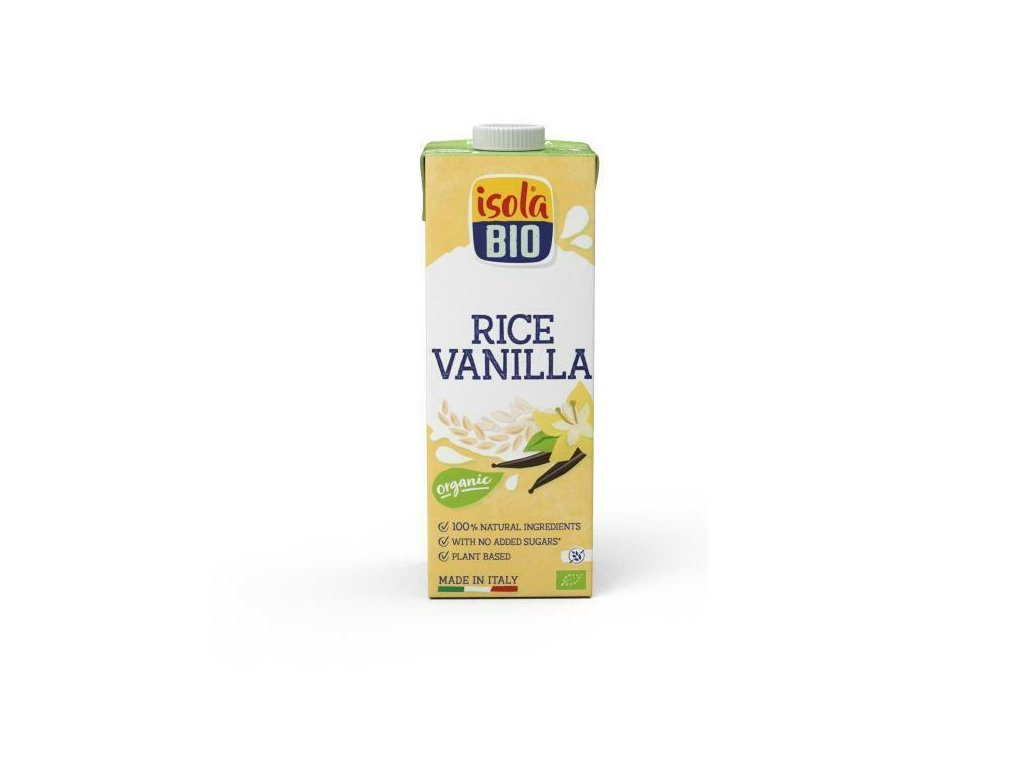 Nápoj rýžový vanilkový ISOLA BIO 1 l