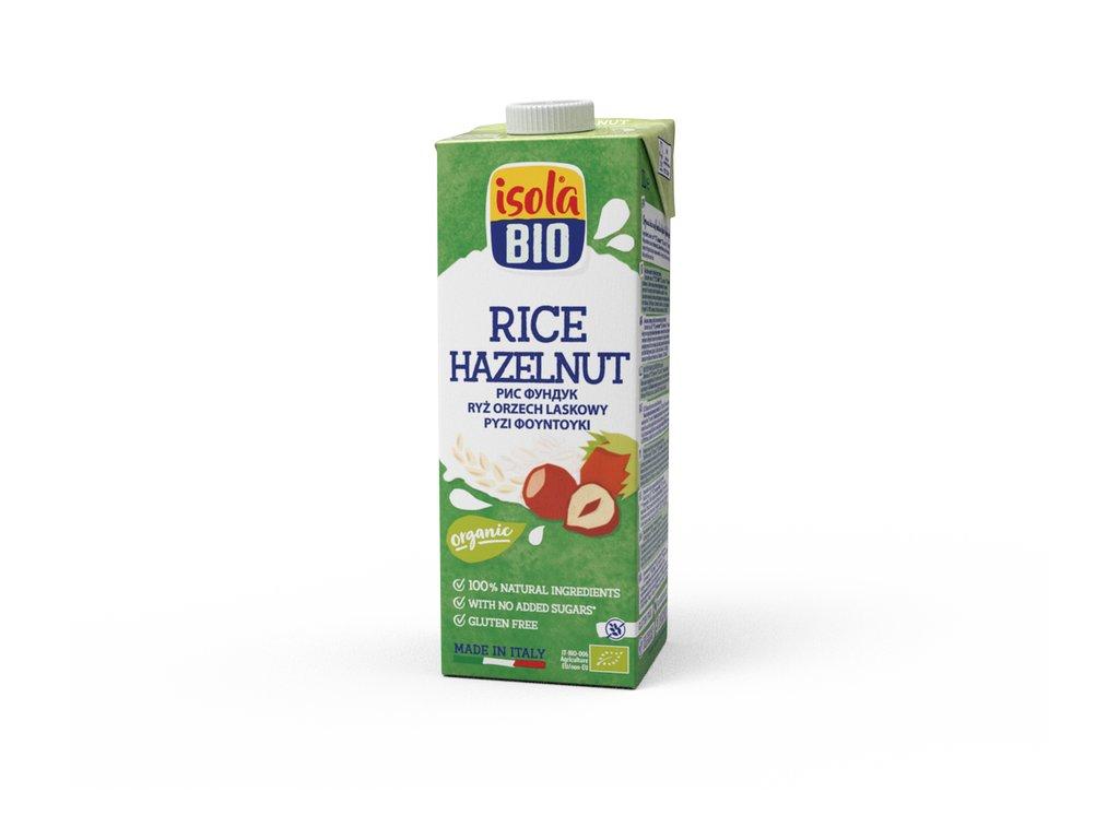 Nápoj rýžový lískooříškový ISOLA BIO 1 l