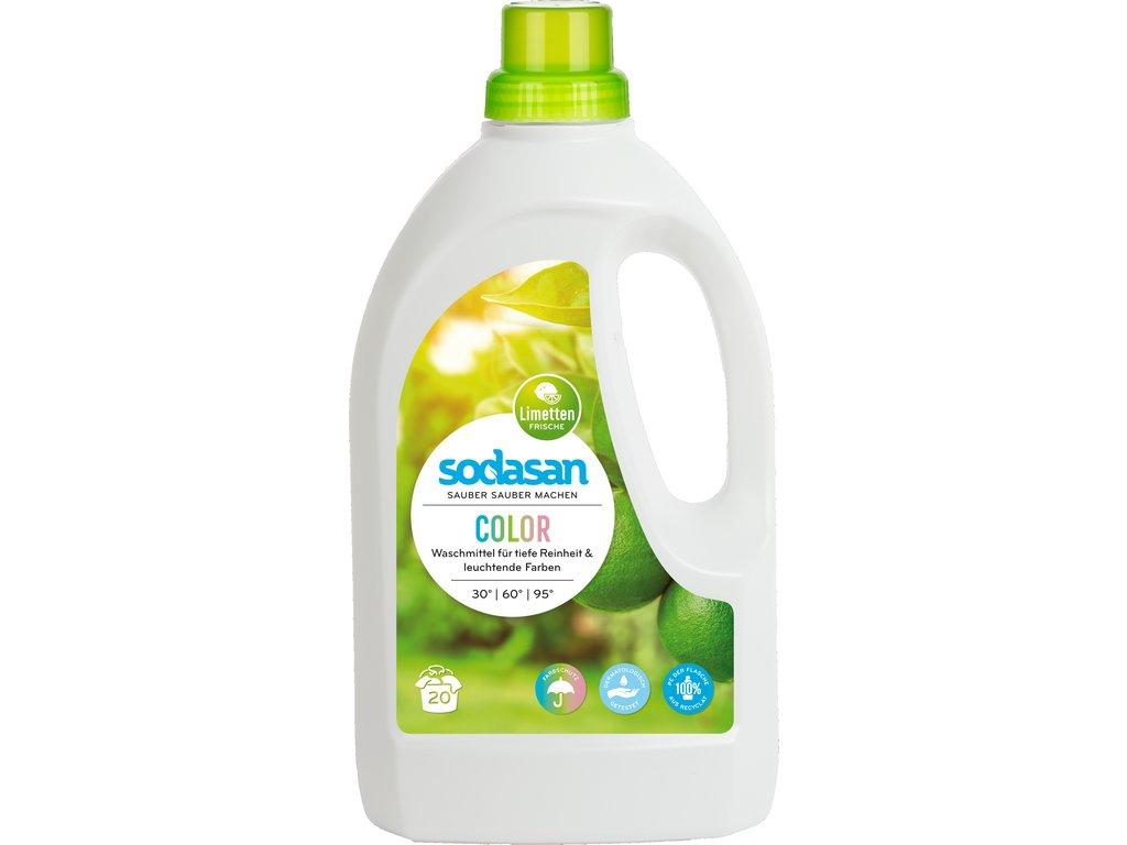 Prostředek prací tekutý COLOR SODASAN 1,5 l