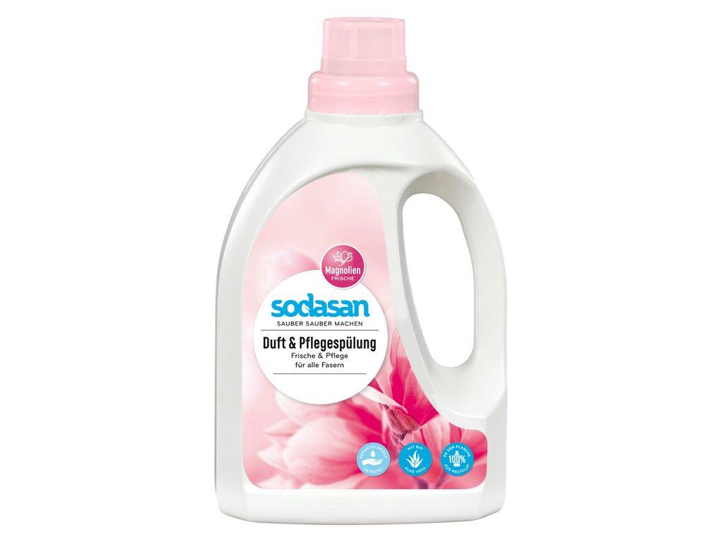 Prostředek na máchání prádla s vůní magnolie SODASAN 750 ml