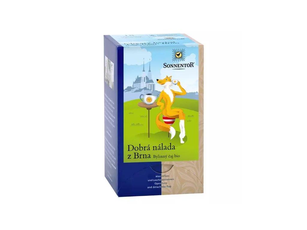 Dobrá nálada z Brna BIO, bylinný čaj 18x1,5 g SONNENTOR