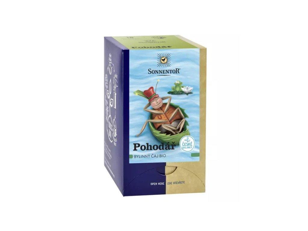 Pohodář - bylinný čaj BIO 18x1,5 g SONNENTOR
