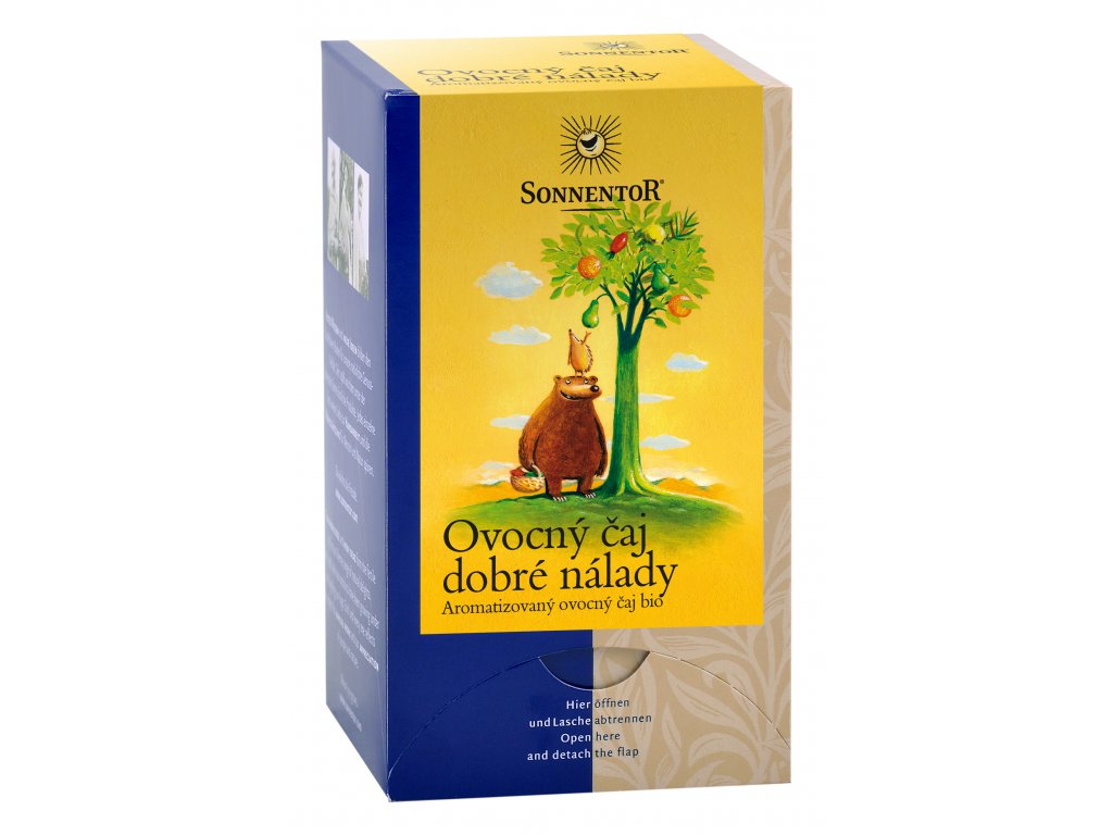 Ovocný čaj dobré nálady BIO 18x2,5 g SONNENTOR
