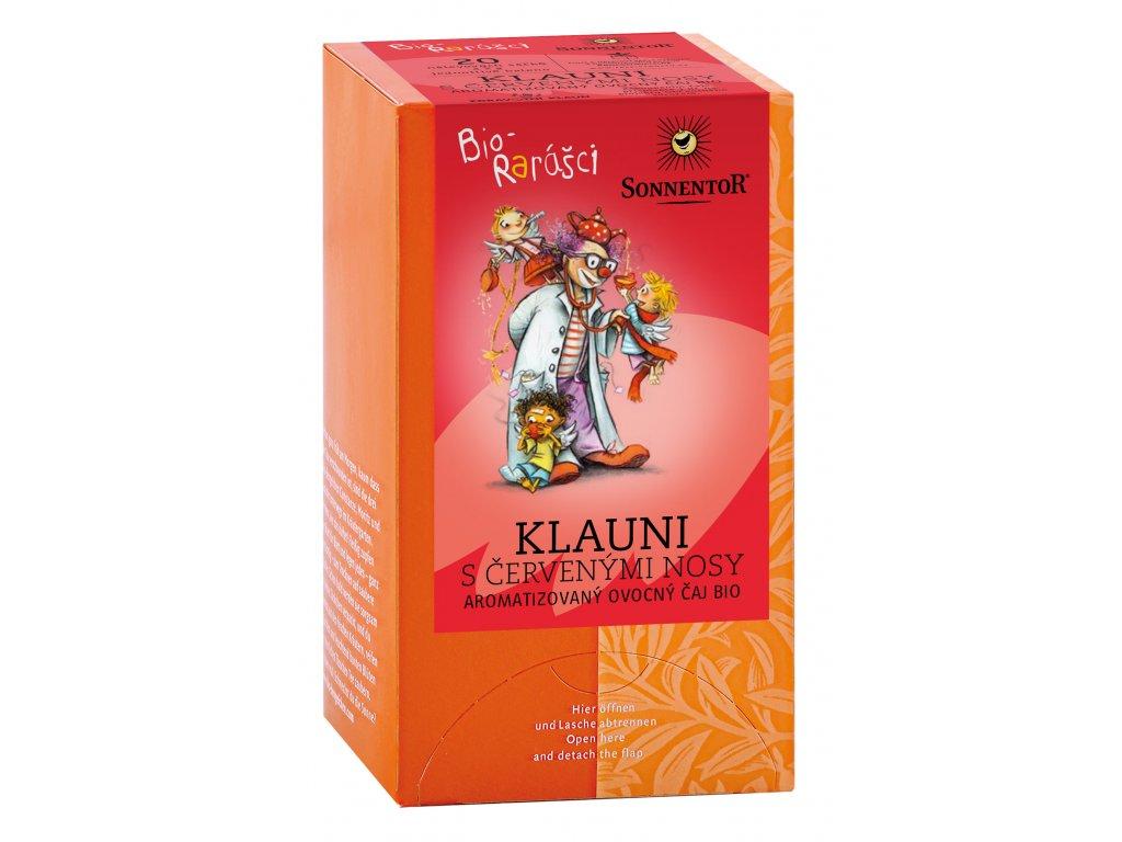 Raráškův čaj - klauni s červenými nosy BIO 20x2 g SONNENTOR