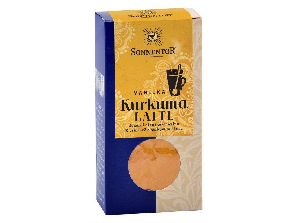 Kurkuma Latte vanilka BIO, jemná směs koření 60 g SONNENTOR