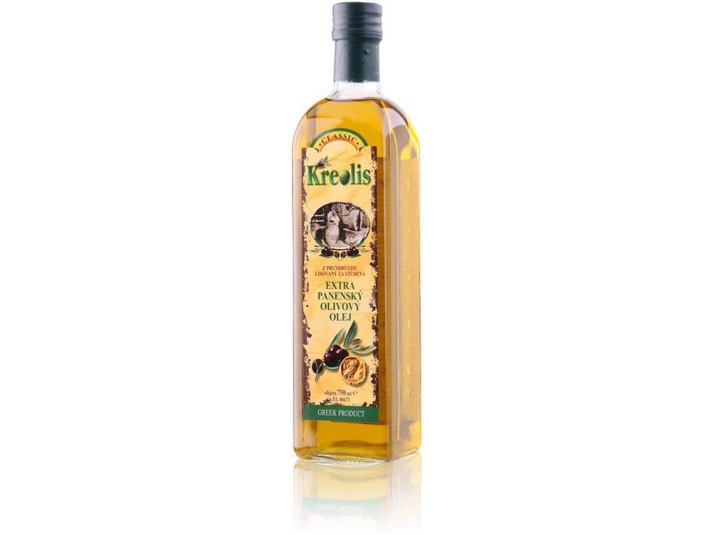 Olivový olej Kreolis extra virgin 0,75 l