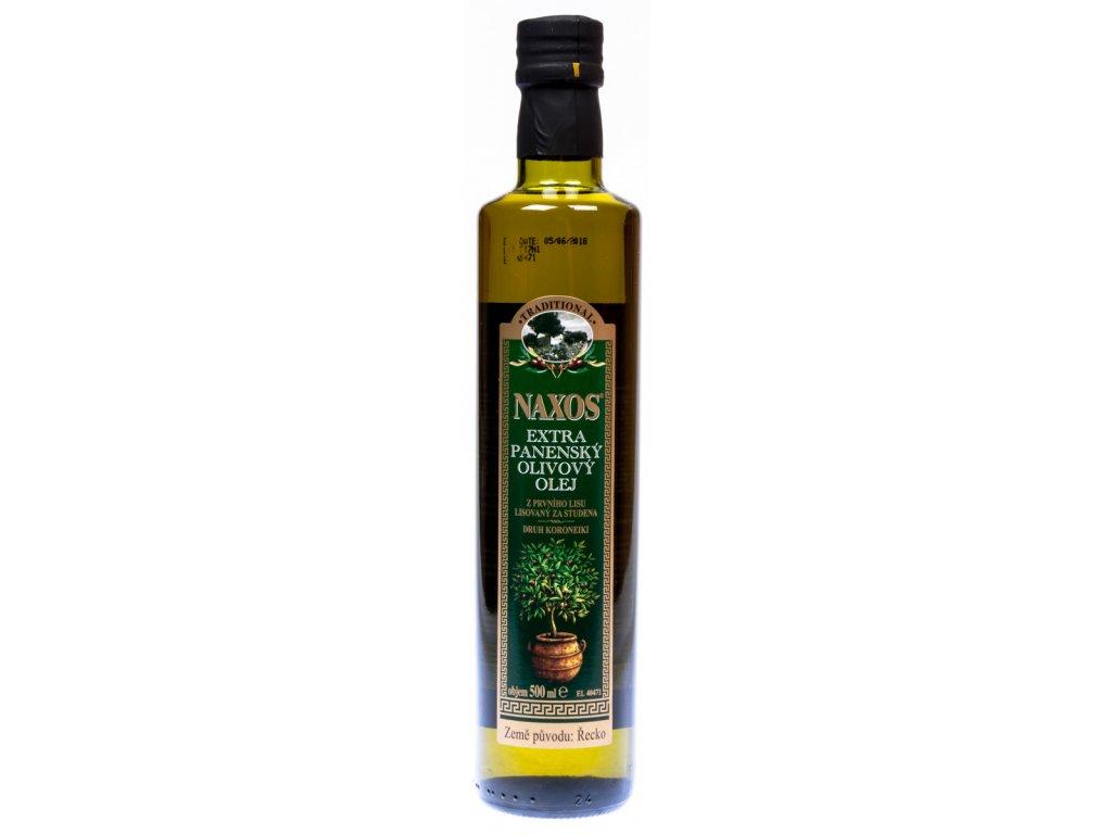 Olivový olej Naxos extra virgin 0,5 l