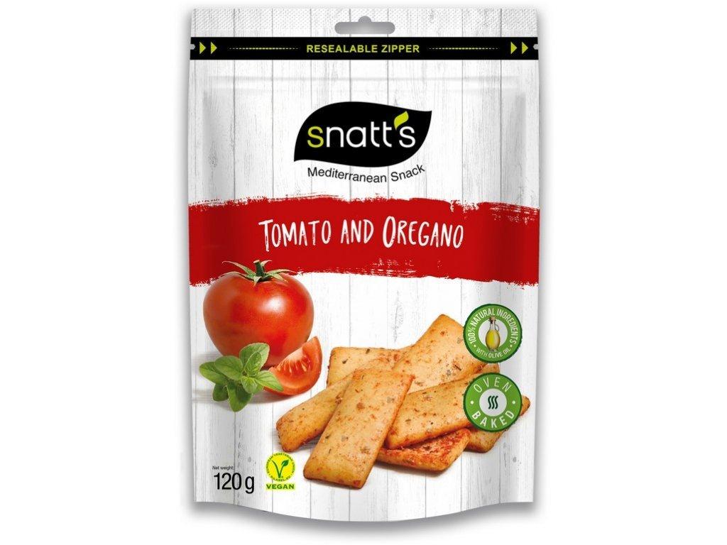 SNATT´S chlebíčky tomato, oregáno 120 g