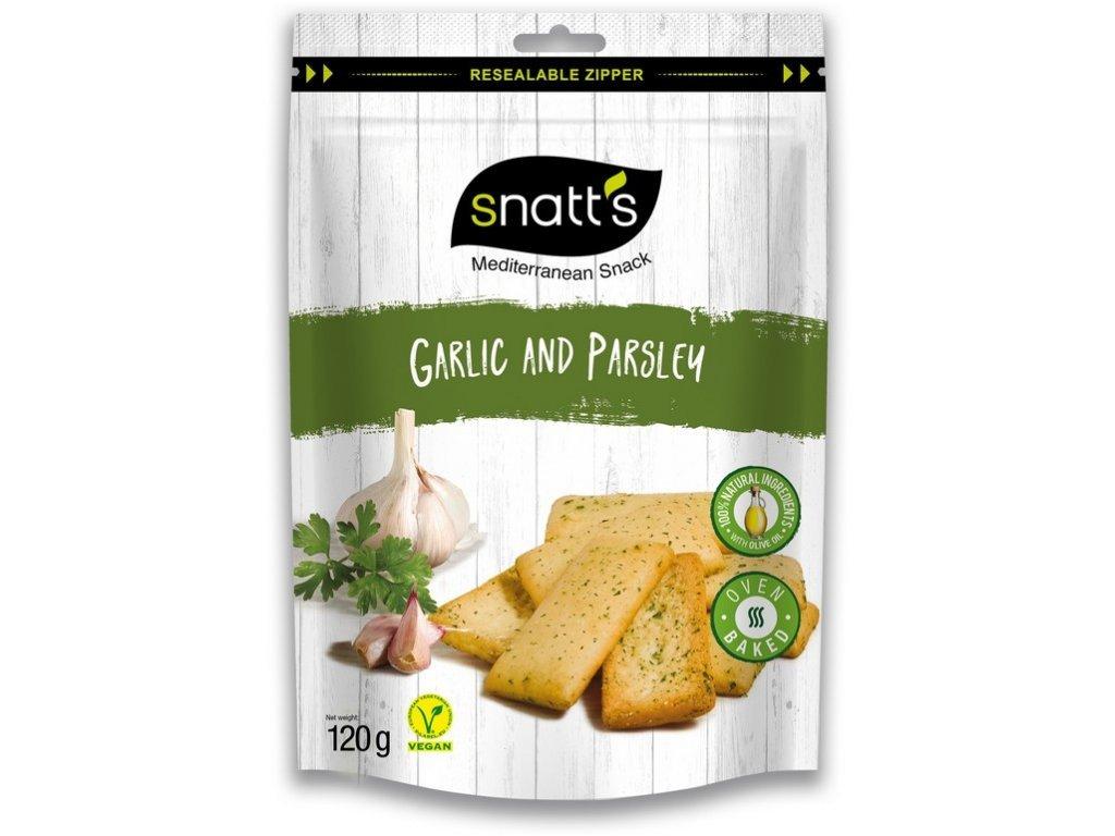 SNATT´S chlebíčky česnek, petržel 120 g