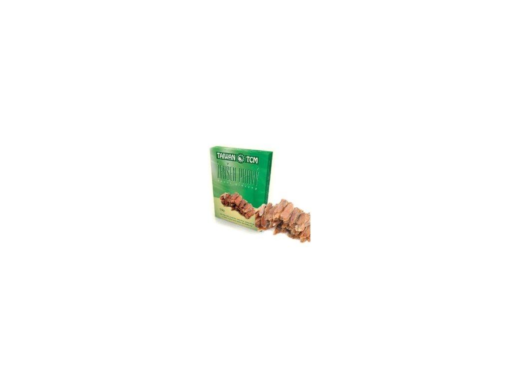 Ženšen TaiwanTCM mladý 50 g /zelený