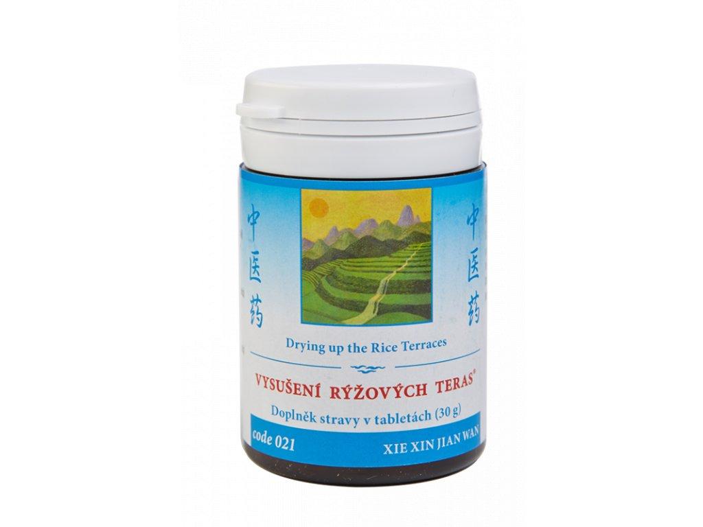 021 Vysušení rýžových teras 100 tab. TCM Herbs