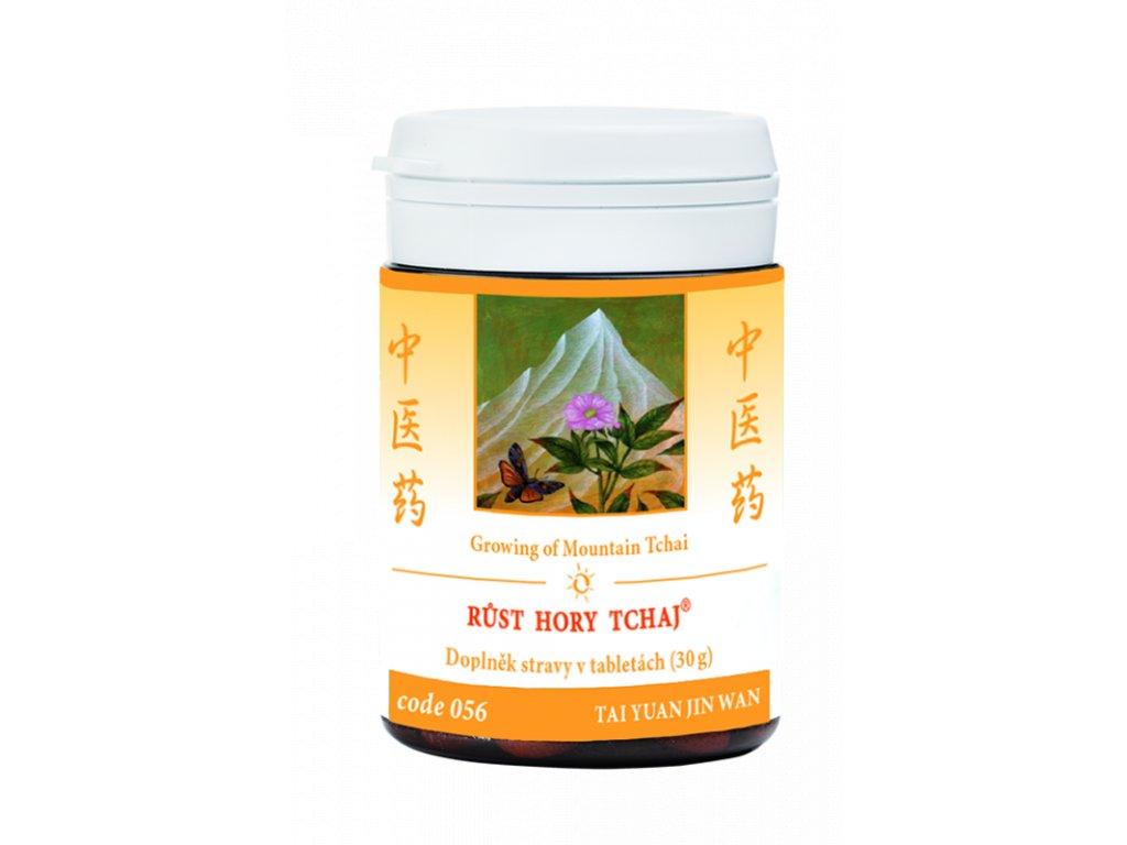 056 Růst hory tchaj 100 tab. TCM Herbs