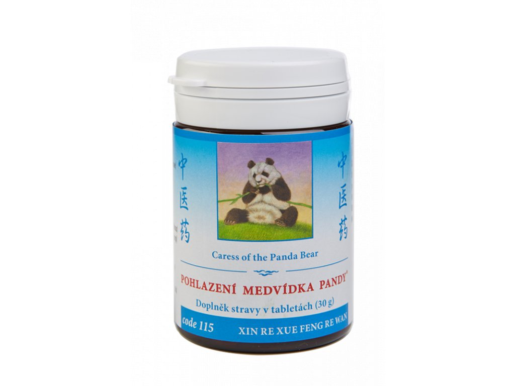 115 Pohlazení medvídka pandy 100 tab. TCM Herbs