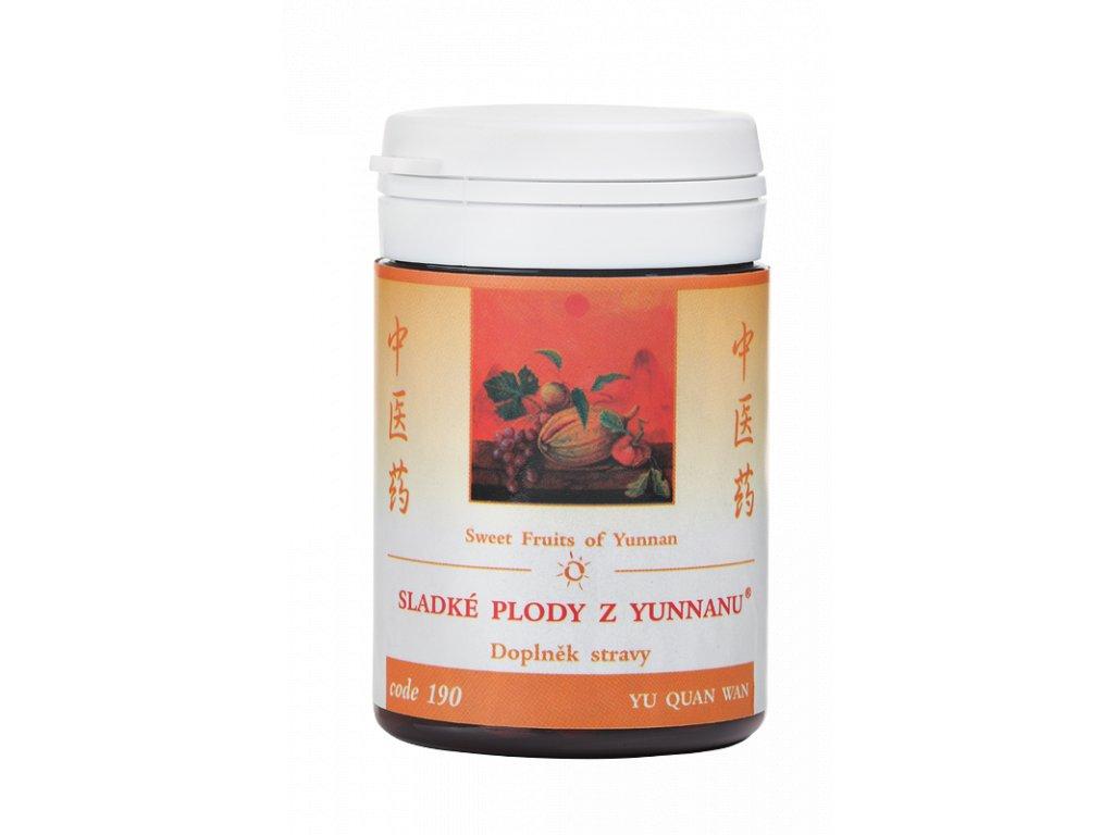 190 Sladké plody z Yunnanu 100 tab. TCM Herbs