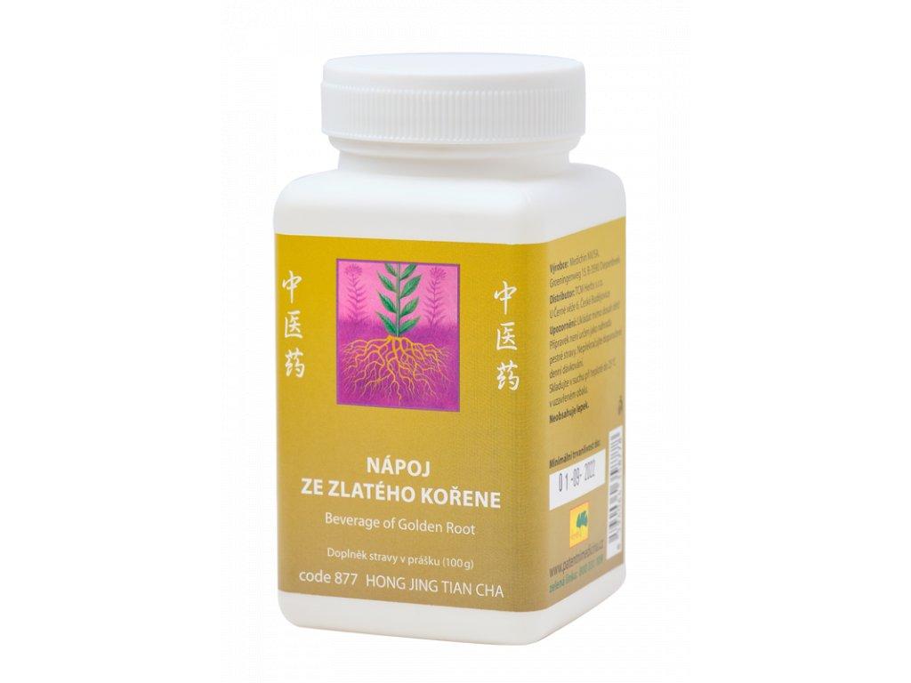 877 Nápoj ze zlatého kořene 100 g TCM Herbs