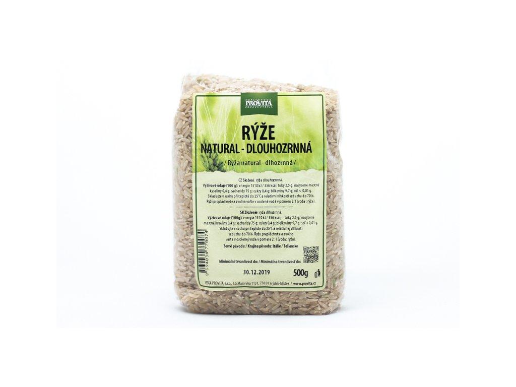 Rýže dlouhozrnná natural 500 g PROVITA