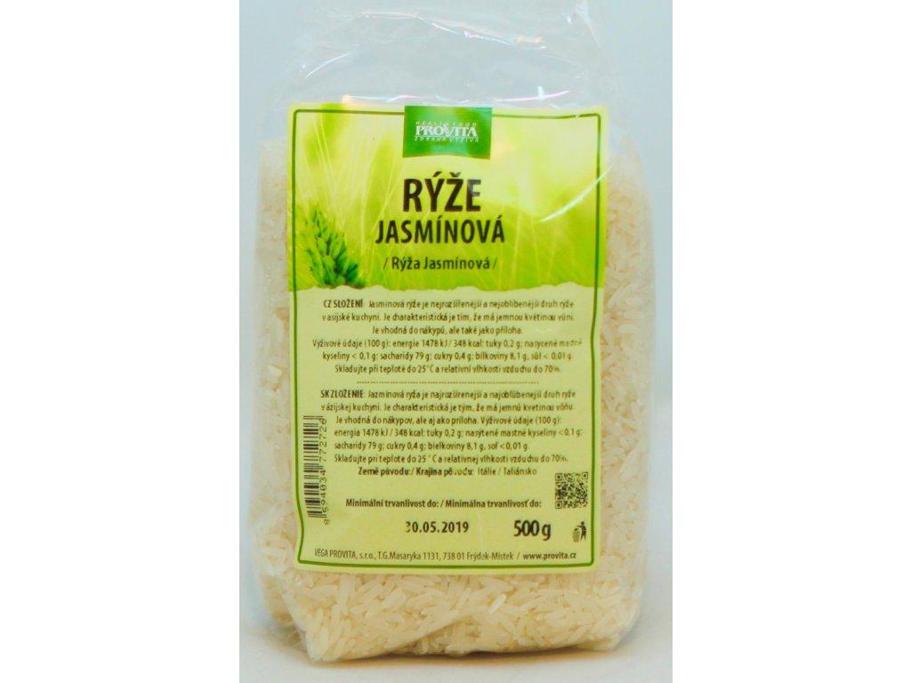 Rýže jasmínová 500 g PROVITA