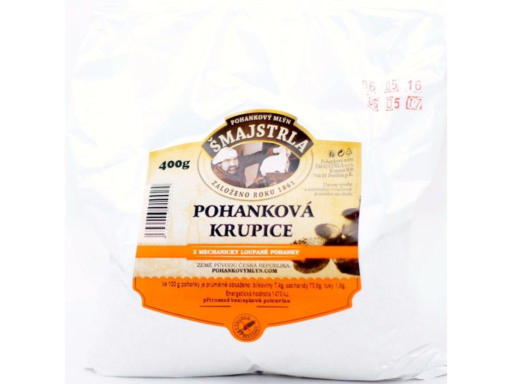 Krupice pohanková bezl. 400 g ŠMAJSTRLA