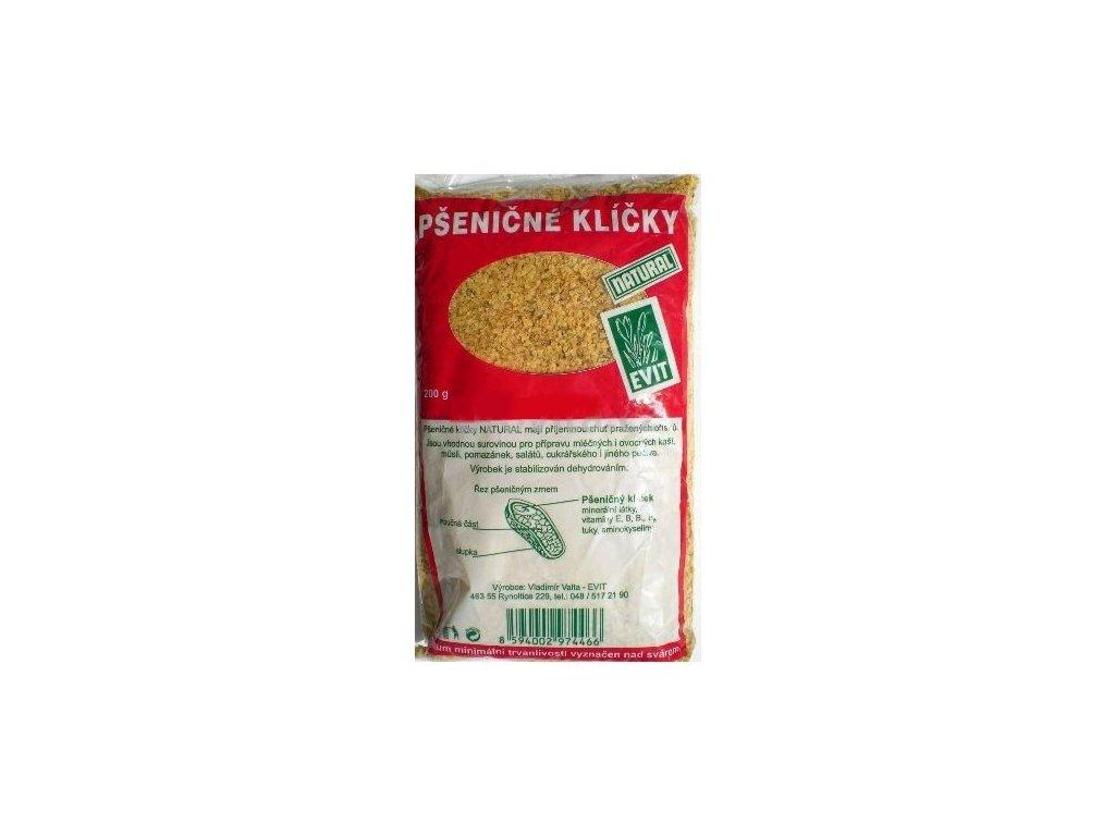 Klíčky pšeničné Natural 200 g EVIT