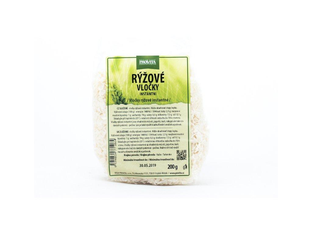 Vločky rýžové instantní 200 g PROVITA