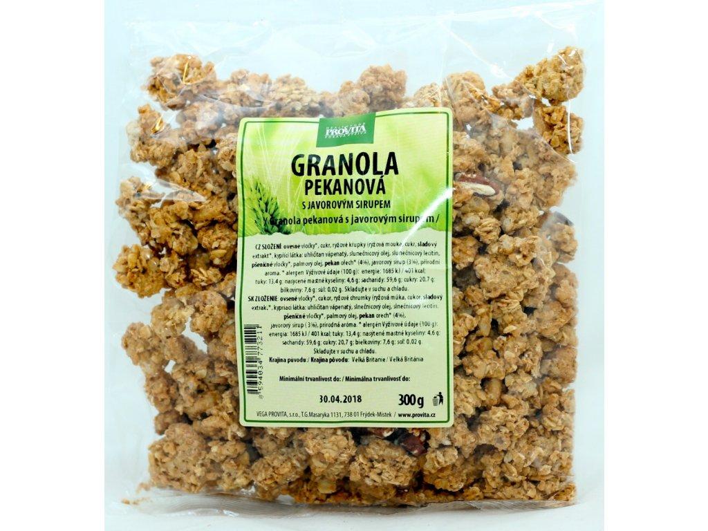 Granola pekanová s javorovým sirupem 300 g PROVITA
