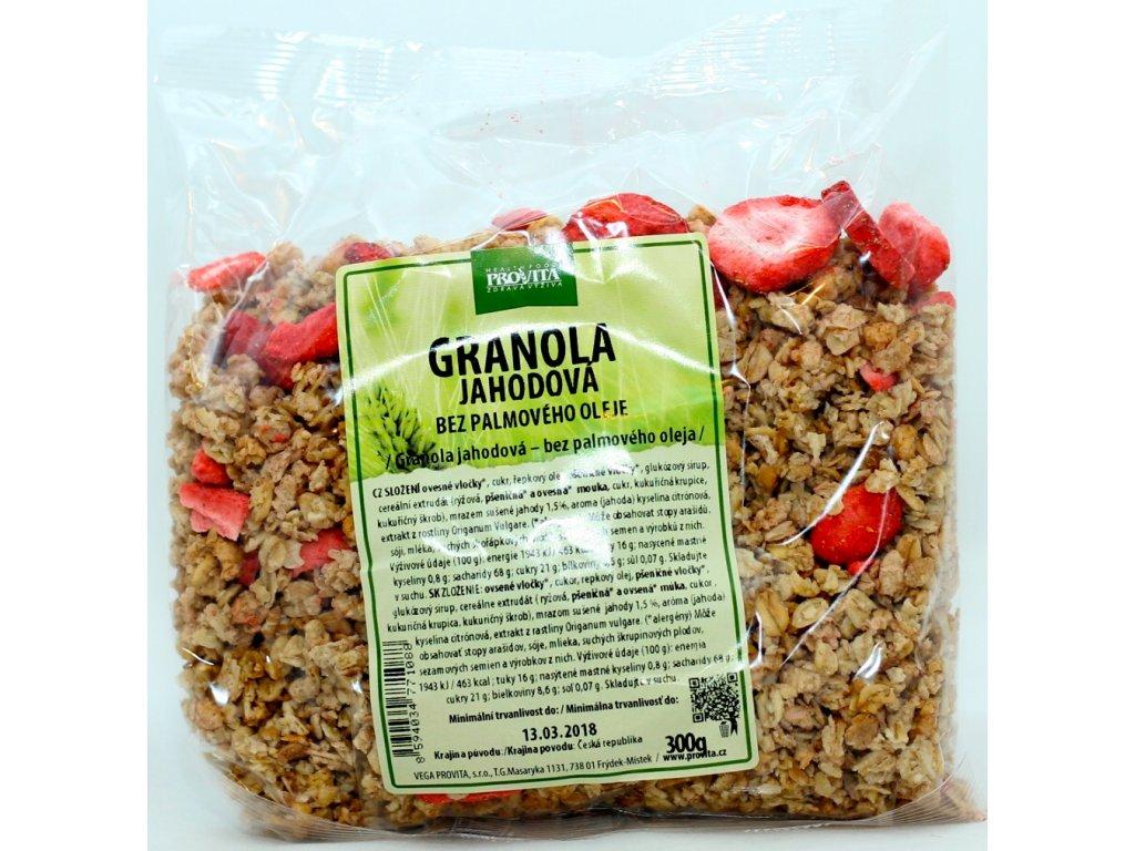 Granola jahodová 300 g PROVITA