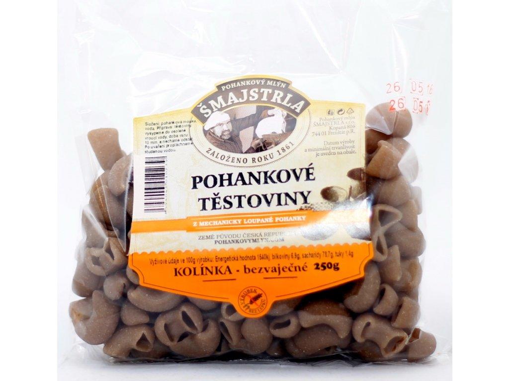 Těstoviny pohankové kolena bezl. 250 g ŠMAJSTRLA