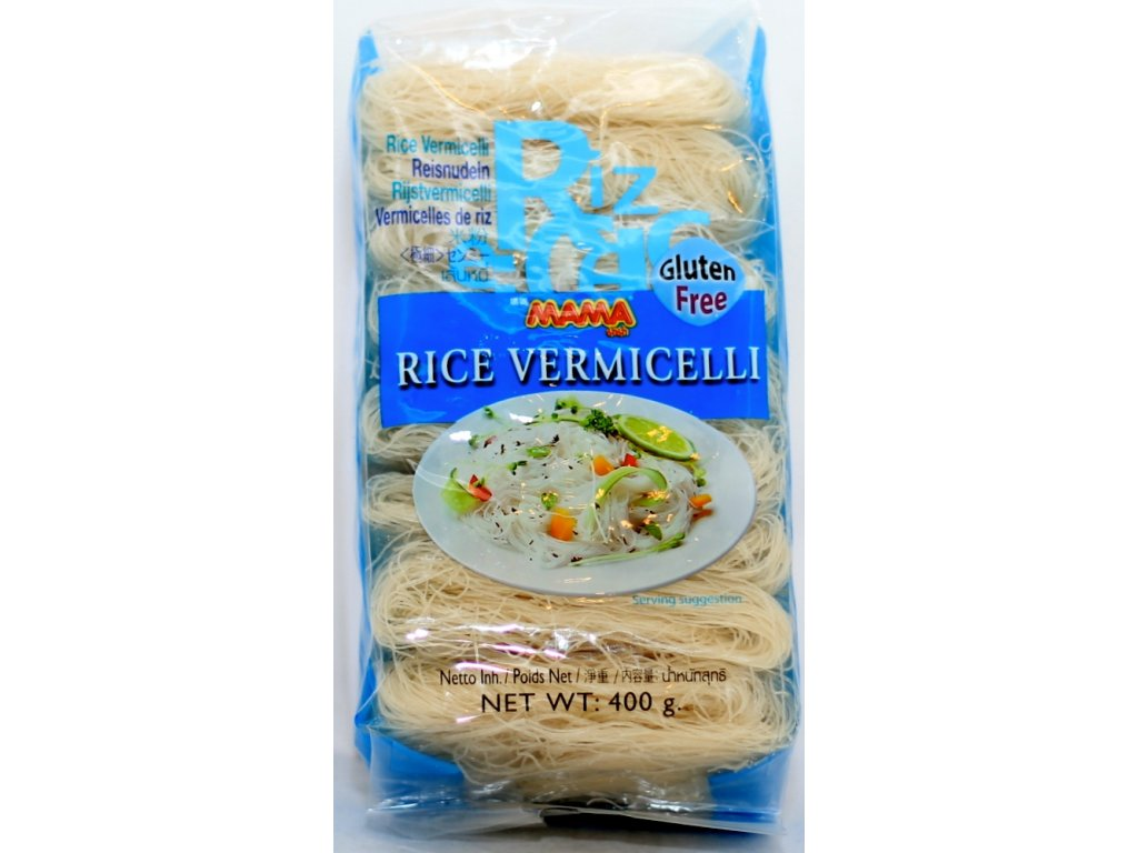 Nudle rýžové vlasové 400 g MAMA