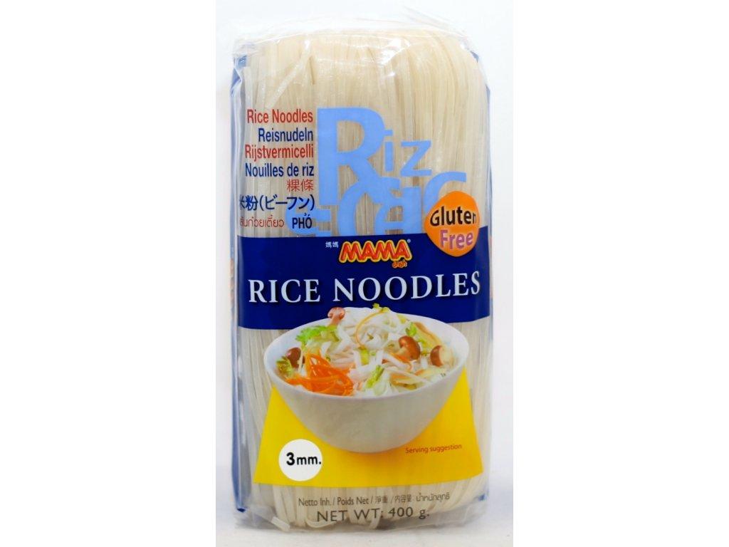 Nudle rýžové 3mm bezl. 400 g MAMA