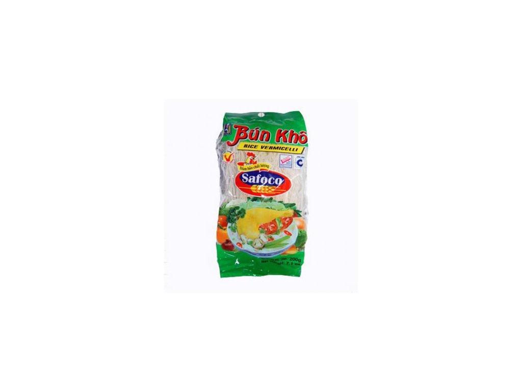 Nudle rýžové vlasové 200 g SAFOCO