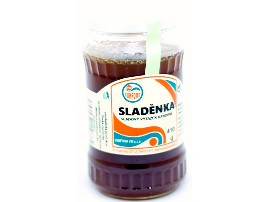 Sladěnka - ječmenný slad /sklo 410 g SUNFOOD