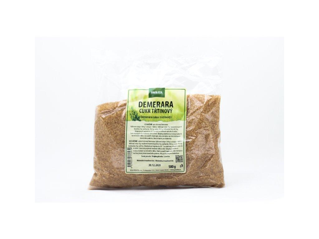 Cukr třtinový Demerara 500 g PROVITA