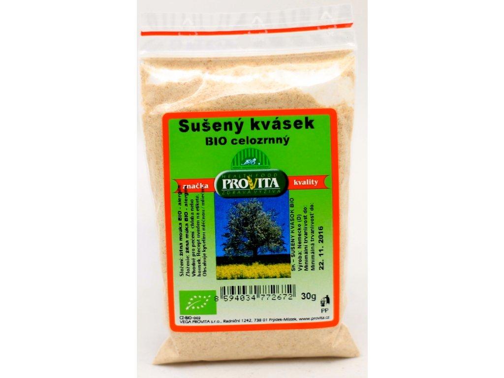 Kvásek sušený žitný celozrnný 30 g BIO PROVITA
