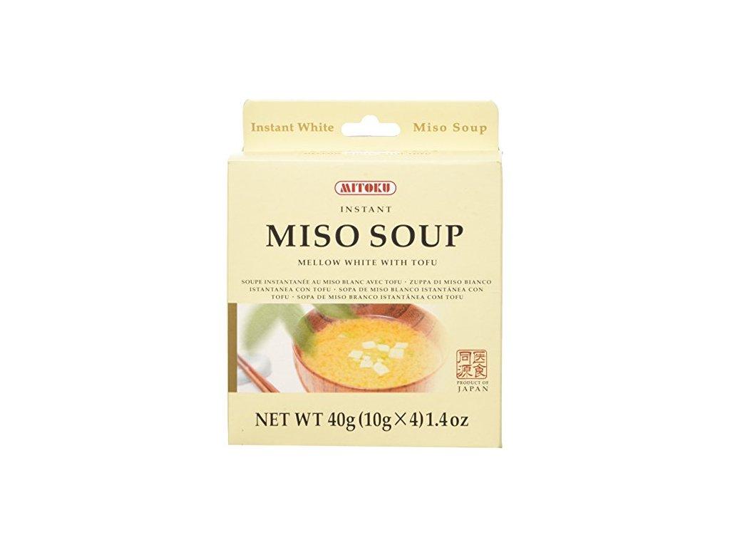 Polévka Miso bílé a tofu instantní 40 g MITOKU