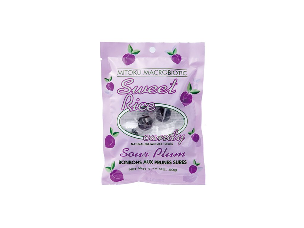 Sweets bonbony Umeboshi 11 ks 50 g MITOKU