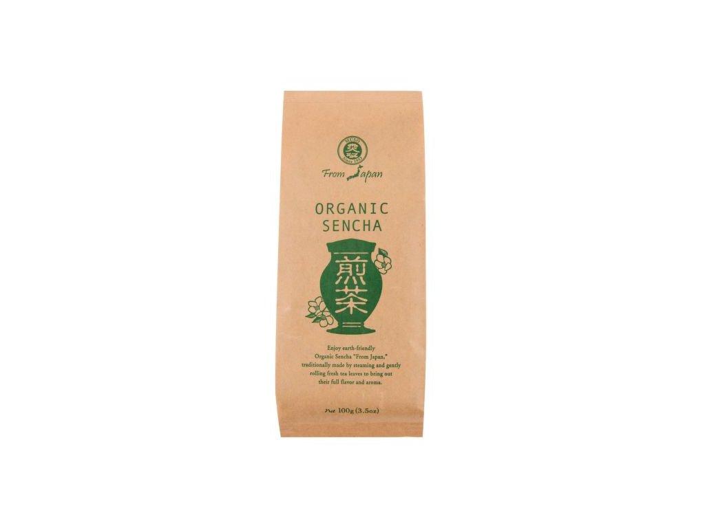 Čaj Sencha sypaný 100 g BIO MUSO