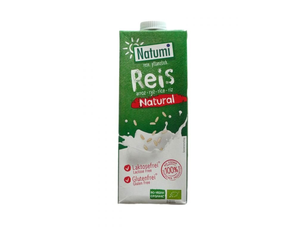 Nápoj rýžový natural 1 l BIO NATUMI