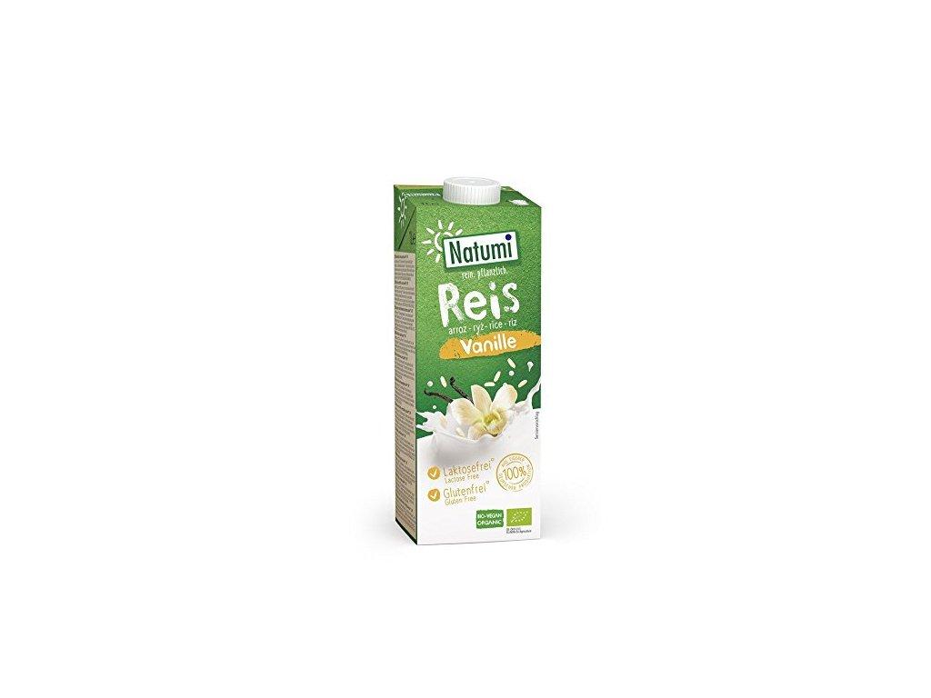 Nápoj rýžový vanilkový 1 l BIO NATUMI