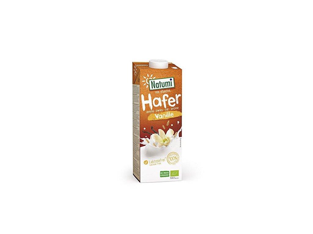 Nápoj ovesný vanilkový 1 l BIO NATUMI