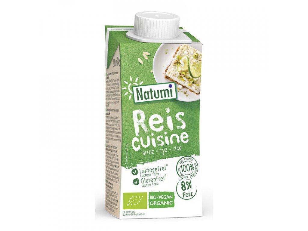 Krém rýžový na vaření a pečení 200 ml BIO NATUMI