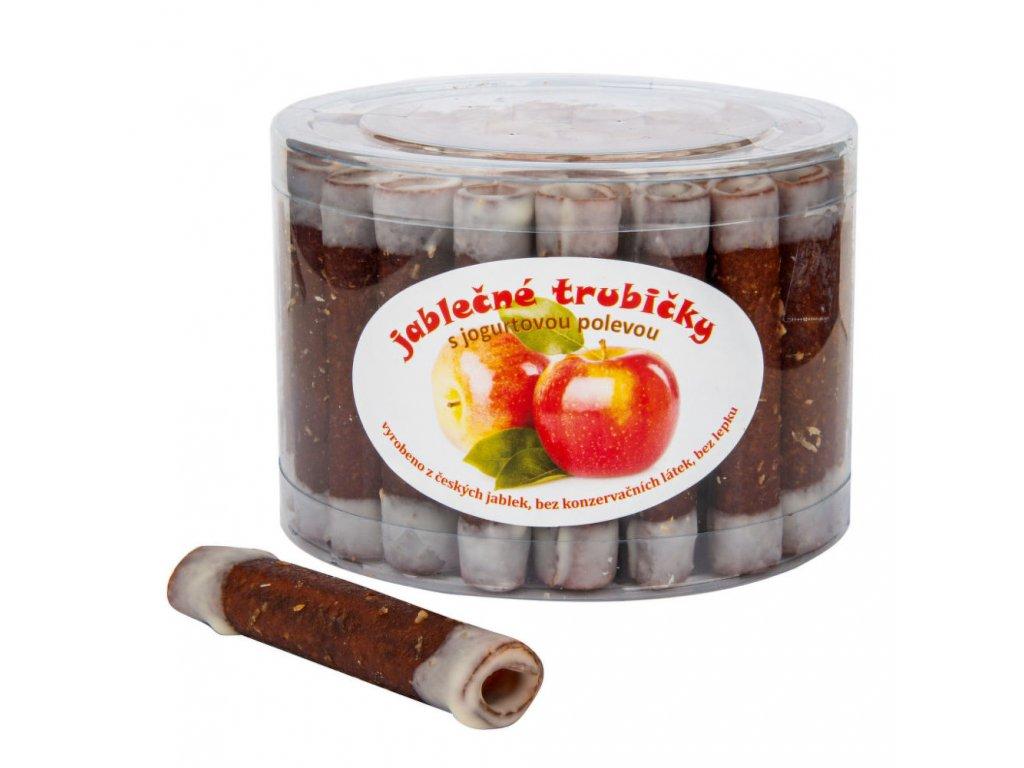 Trubičky jablečné s jogurtem dóza bezl. 540 g TRUTNA
