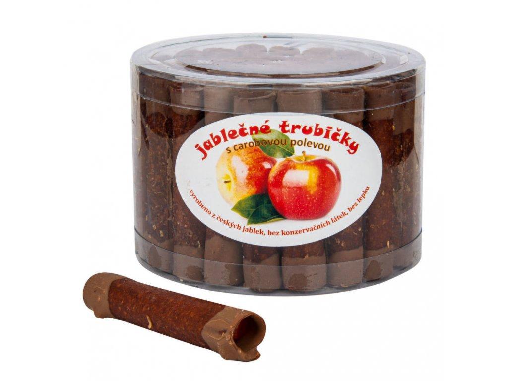 Trubičky jablečné s karobem dóza bezl. 540 g TRUTNA
