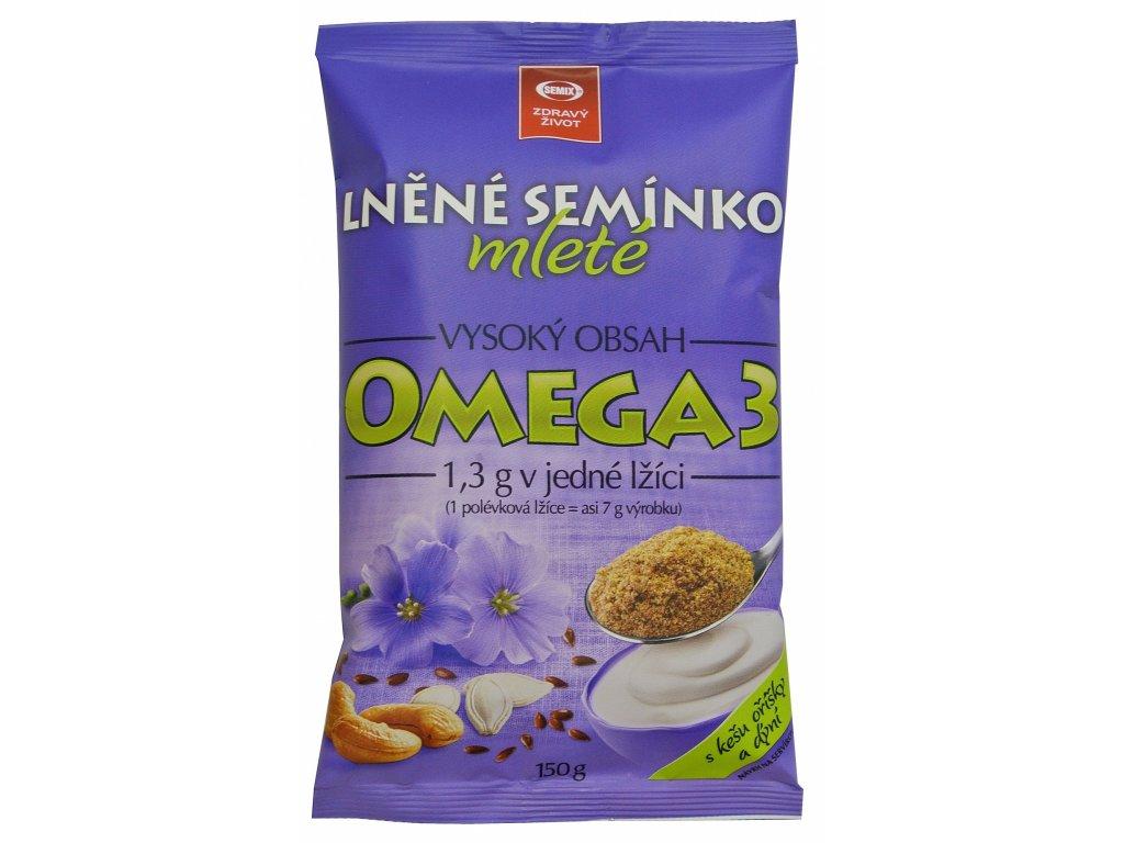 Lněné semínko mleté ochucená 150 g SEMIX