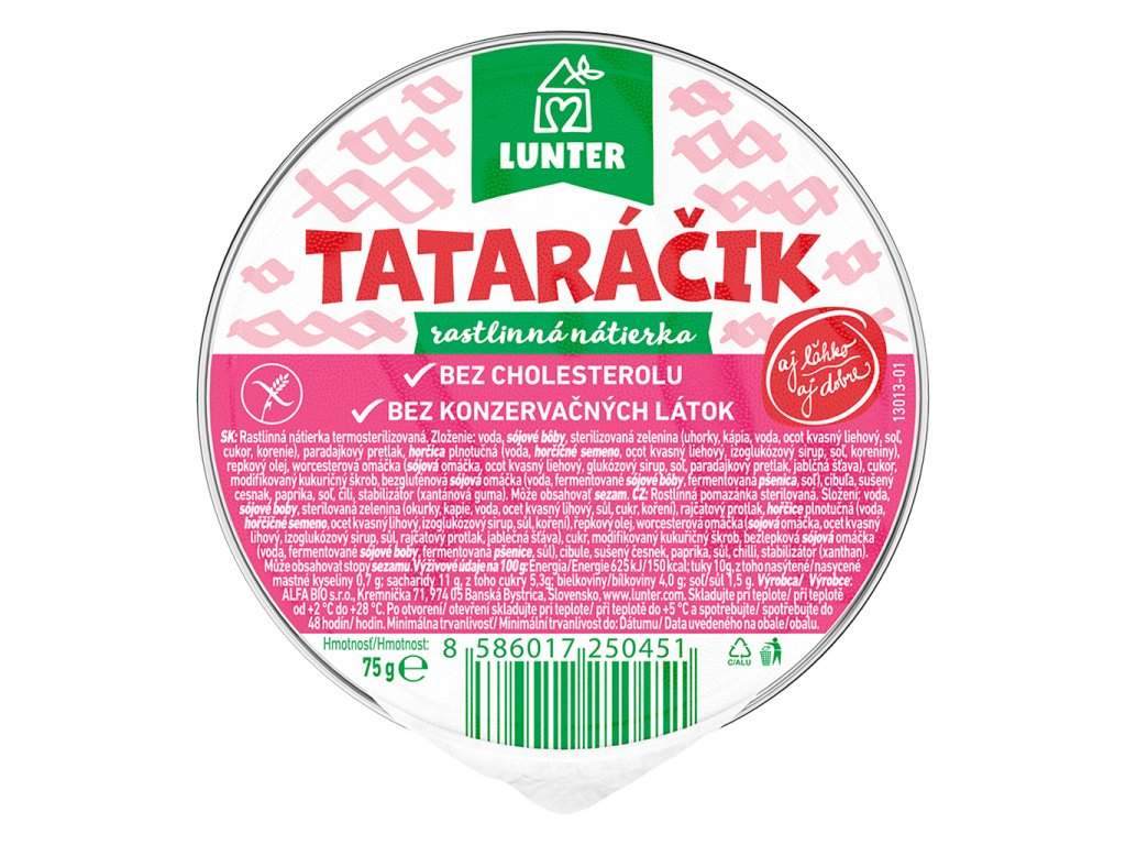 Pomazánka tataráček 75 g ALFABIO