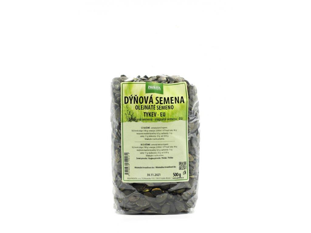 Dýňová semena loup. 500 g PROVITA