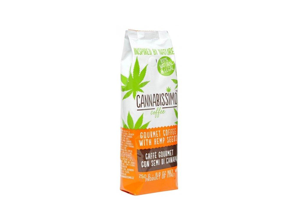 CANNABISSIMO mletá káva s konopným semínkem 250 g