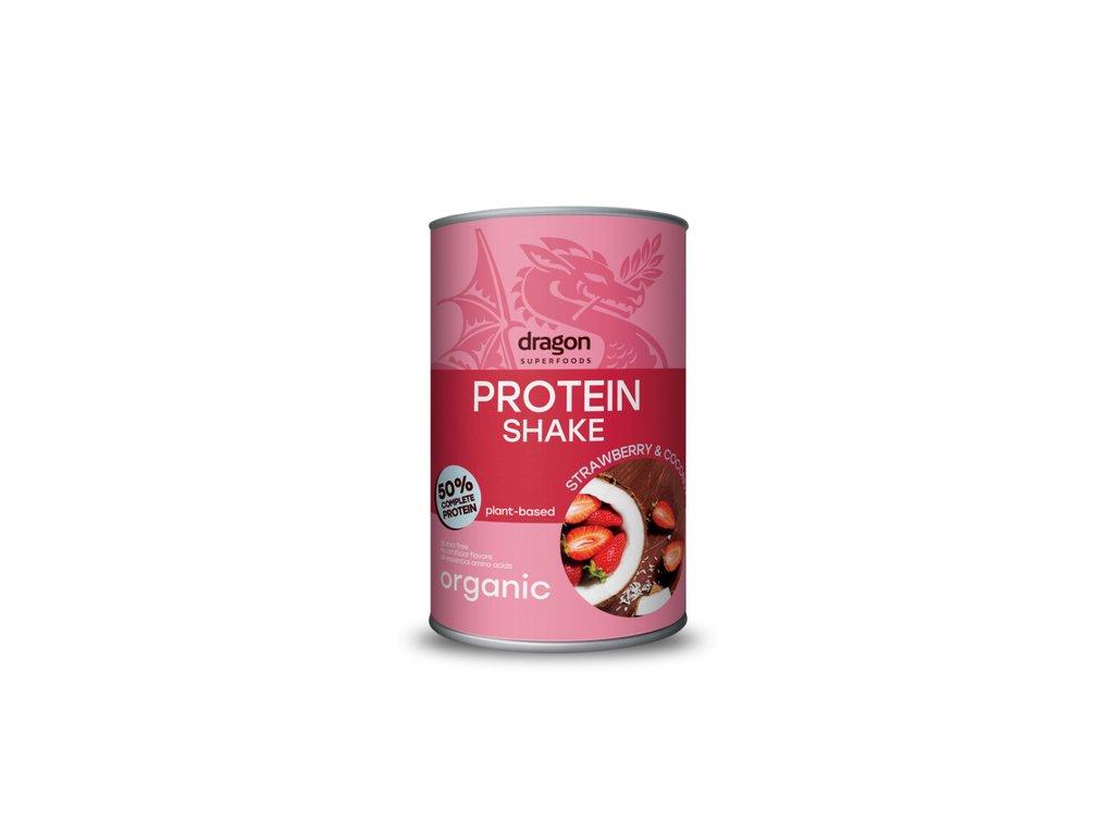 Dragon Protein SHAKE Jahoda-Kokos 500 g