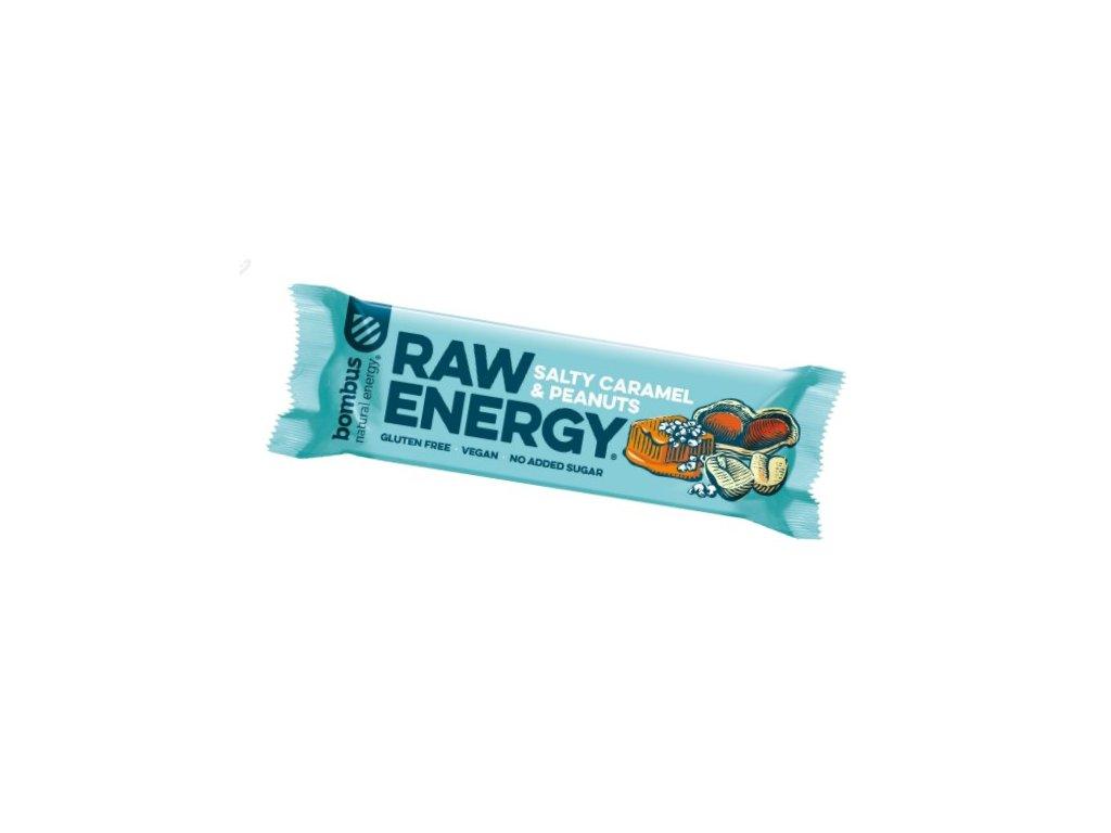 BOMBUS Raw Energy Salty Caramel & Peanuts